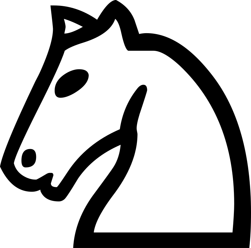 chess horse by mcol