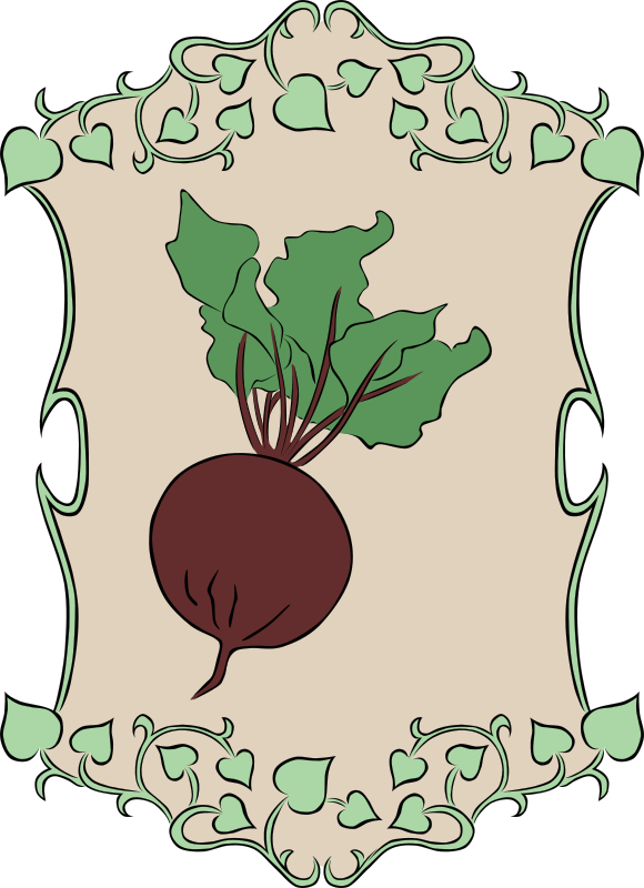 Garden Sign Beet by Gerald_G - My idea for the 2010 spring project was to create a set of signs that could represent marker signs in someones garden as they plant the seeds. Spring is gardening time, so that's how it fits the theme. 