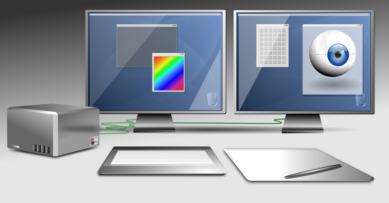 Graphics workstation image