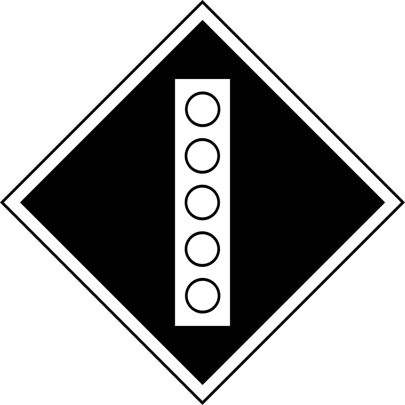 "(GD-15) sign ""Permanent sign - Raise the pantograph on the electric"" by rones - Russian (Soviet) signs of travel and signaling railways.  (GD-15) Знак «Постоянный сигнальный знак - Поднять токо"