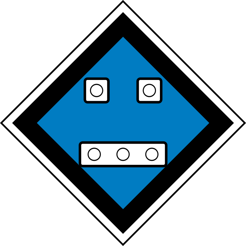 "(GD-17) The sign ""Permanent sign - Turn off the current"" by rones - Russian (Soviet) signs of travel and signaling railways.  (GD-17) Знак «Постоянный сигнальный знак - Отключить ток»"