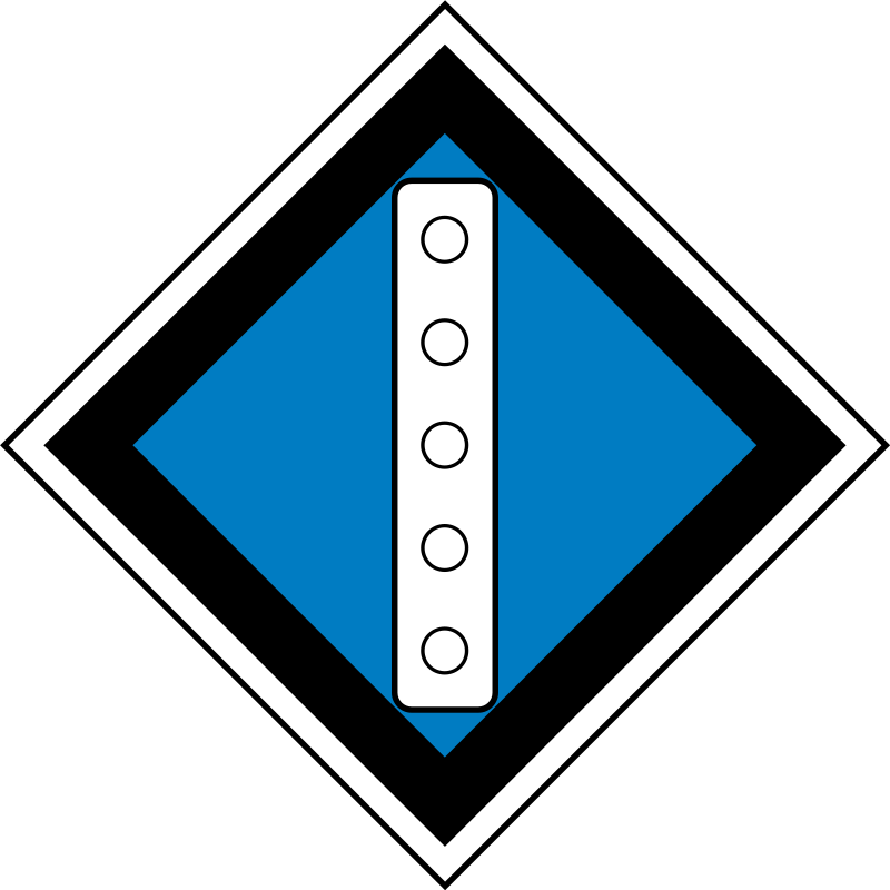 "(GD-22) sign ""Temporary sign - Raise pantograph"" by rones - Russian (Soviet) signs of travel and signaling railways.    (GD-22)"