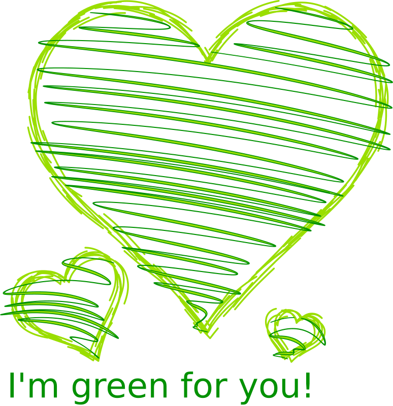 I'm Green for you! by Erulisseuiin