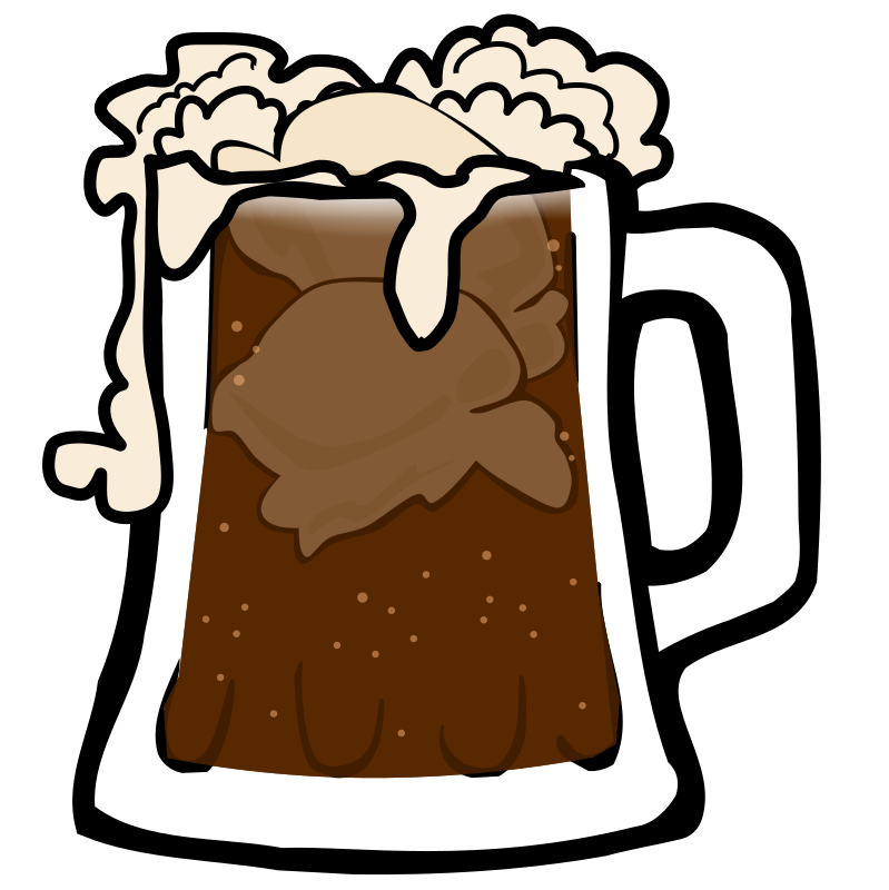 Root Beer Float by eady - Root beer float mug.
