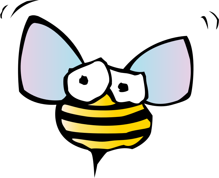 Bee by pianoBrad - A bee, completed for the Spring 2010 Clip Art Package Release