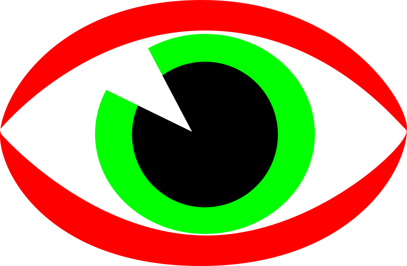 Eye sign by dbdeveloper - Eye sign usually used on territory where CCTV system is activated