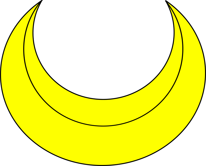 banner heraldry crescent moons - photo #45