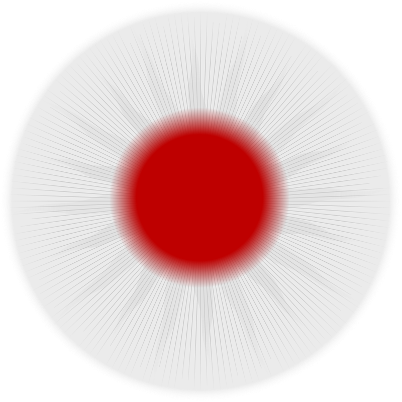 Rounded Japan flag by laobc - A rounded flag from Japan. Uma bandeira redonda do Japão.