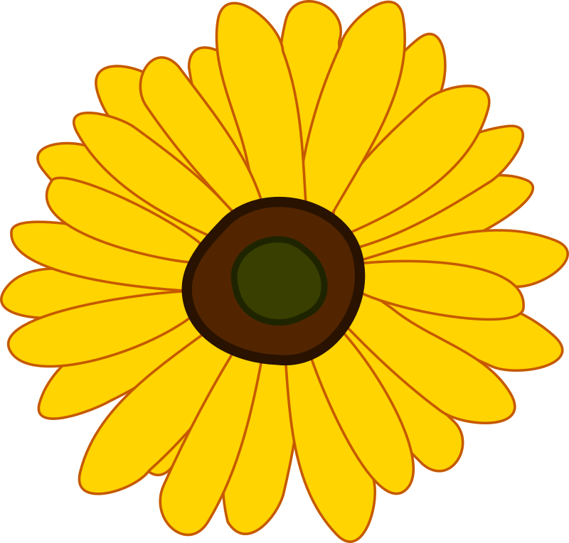 Sunflower by laobc - A simple sunflower.