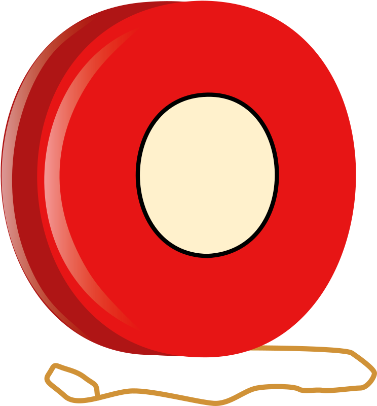 Yo-Yo by Deluge - A red yo-yo.