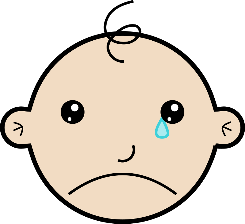 Baby crying by laobc - A baby crying.