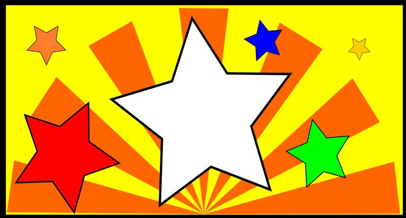 The Star by aungkarns - The Star,Star,Sun,Toon,Cartoon,bujung