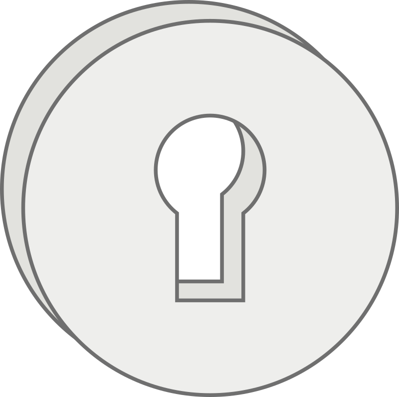 lock by mcol - A lock logo.
