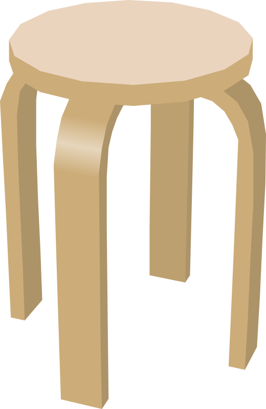 Stool by gramzon