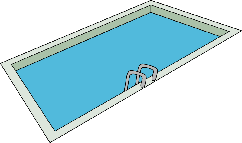 Swimming Pool By Laobc A Swimming Pool With A Swimming Pool Ladder