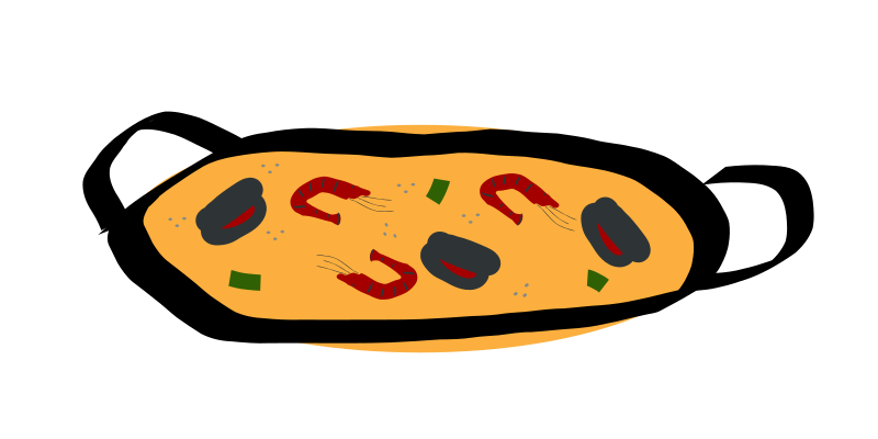 Clipart Paella