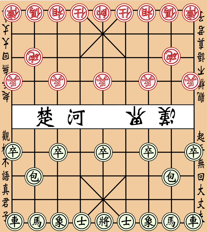 Chinese chess by antontw - I added the chess items.