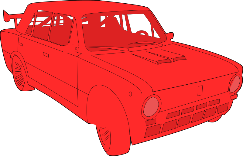 Lada by Peileppe - modified - svg from the Tuned Lada Vaz 2101 by KlausGena