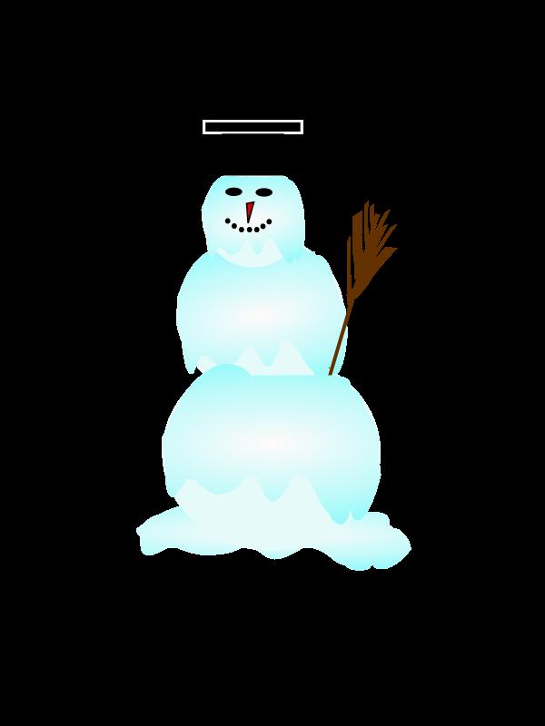 Clipart - snowman