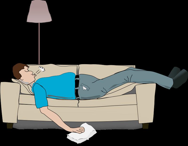 Clipart - sleeping