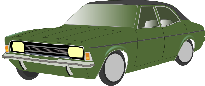 Ford Cortina MKIII by Ramchand - Manually drawn