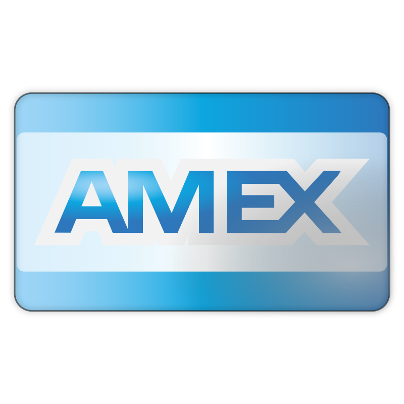 American Express by monolite - American Express credit card icon.