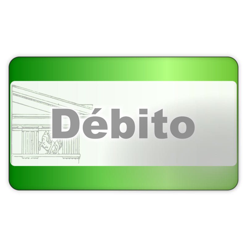 Debit Card Icon by monolite