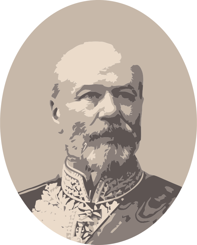 Old general by smartpc - Vectorised from old photo