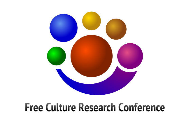Free Culture Research Conference Logo by jumpordie -