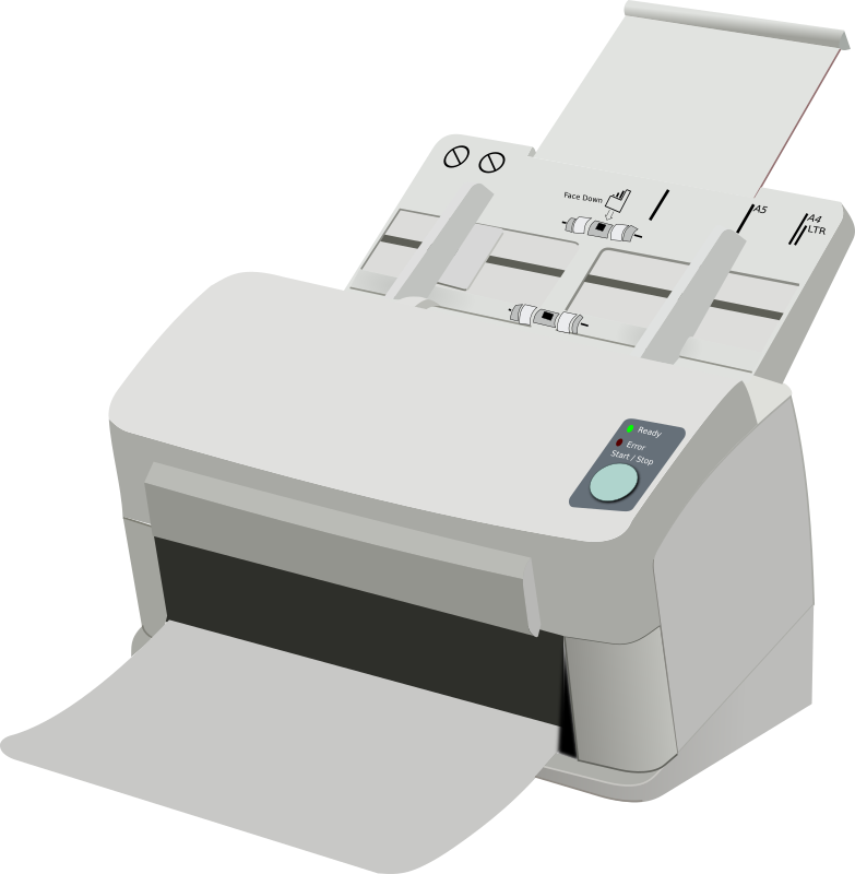Sheet Fed Scanner by deusinvictus - A Sheet fed document scanner