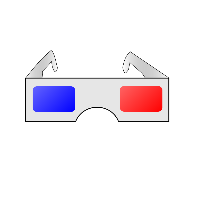 3D Glasses by marricklip14 - Here an icon I made ...