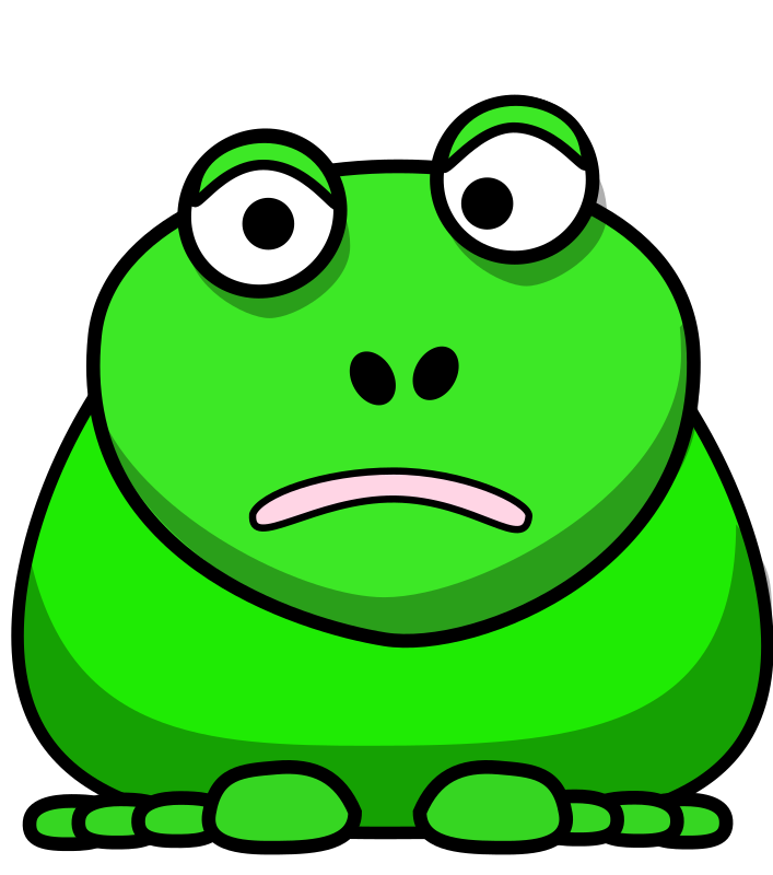 Cartoon Frog by roland81 - A green frog remix based on the cartoon animal style by StudioFibonacci and lemmling.