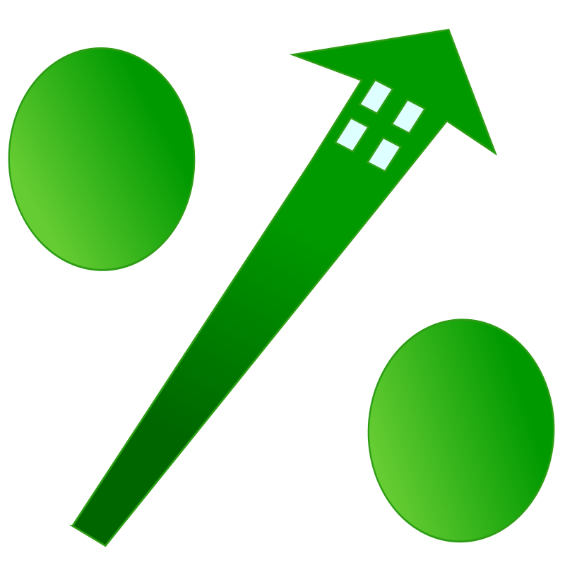 mortgage rate by netalloy - real estate clip art