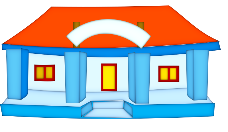 school-building by netalloy - real estate clipart
