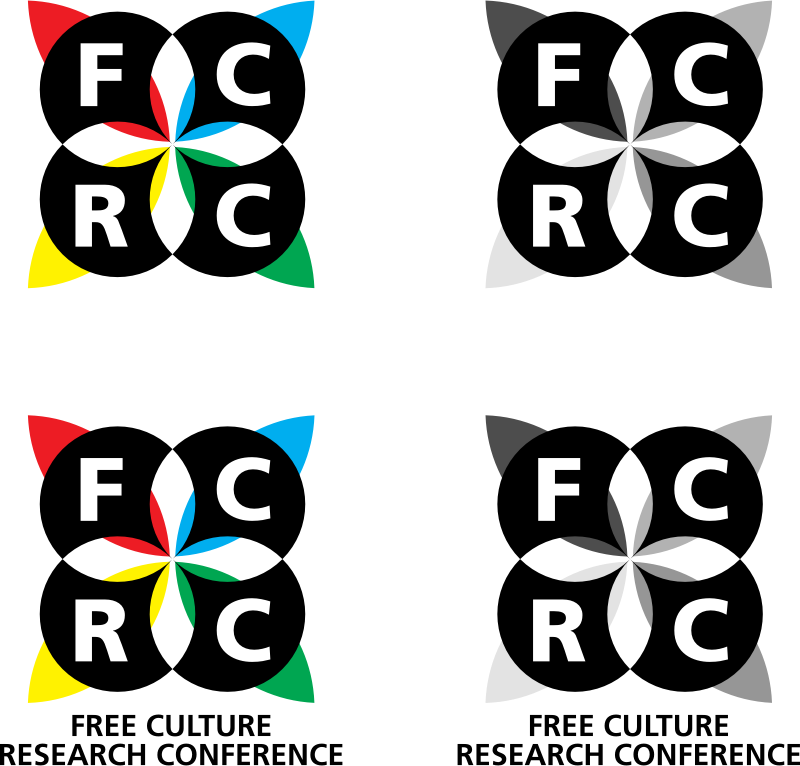 FCRC Identity Mark by theshep - This identity mark is a representation of the Free Culture Research Conference.