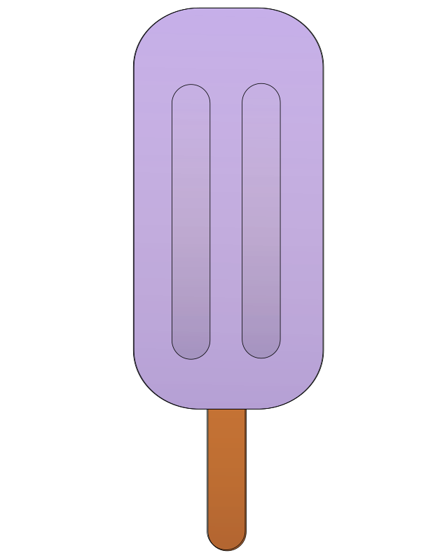 Grape popsicle. by Ehecatl1138 - Grape popsicle.