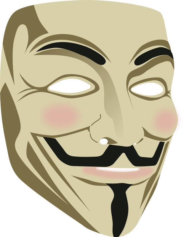 Guy Fawkes mask (3d) by rones -