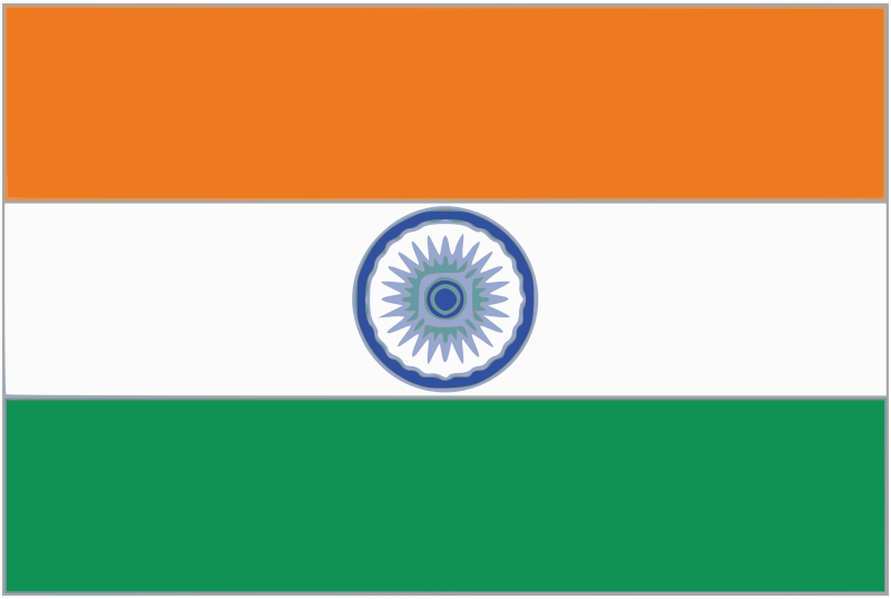 India flag by chethan - Flag of United India