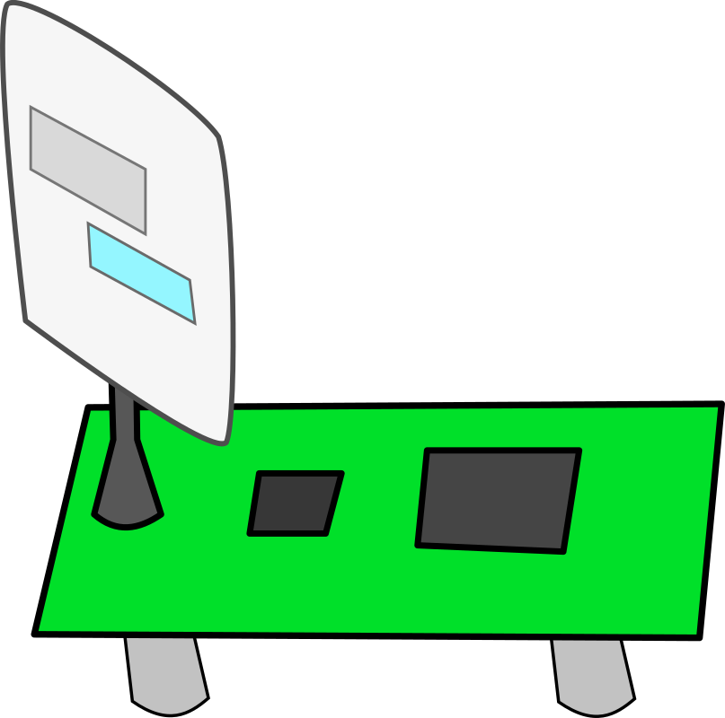 UWB Transceiver by thegemini - Very simple clipart of an transceiver.