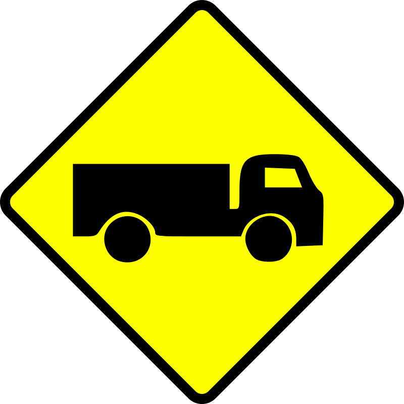 caution_truck by Leomarc