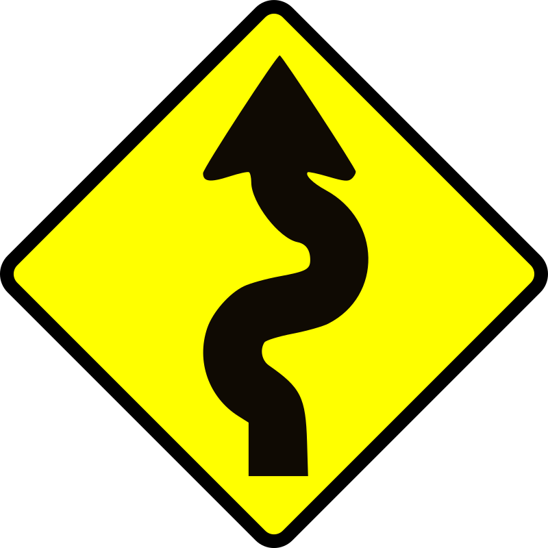 caution_winding road by Leomarc - Caution winding road.