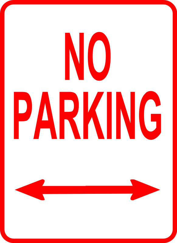 Clipart - sign_no parking