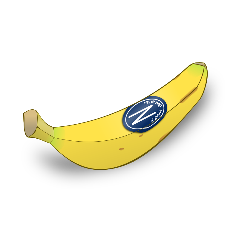 Shiny banana by nicubunu - A simple, plain but tasty banana