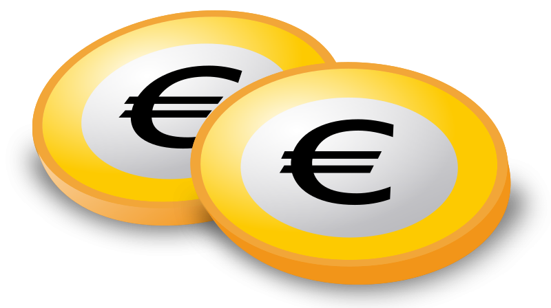 Coins with Euro-Sign by laser_engravers