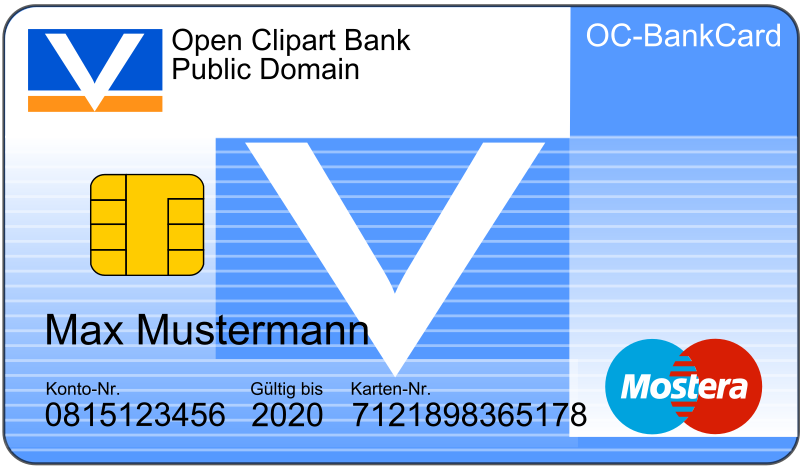 Bankcard with Text by laser_engravers
