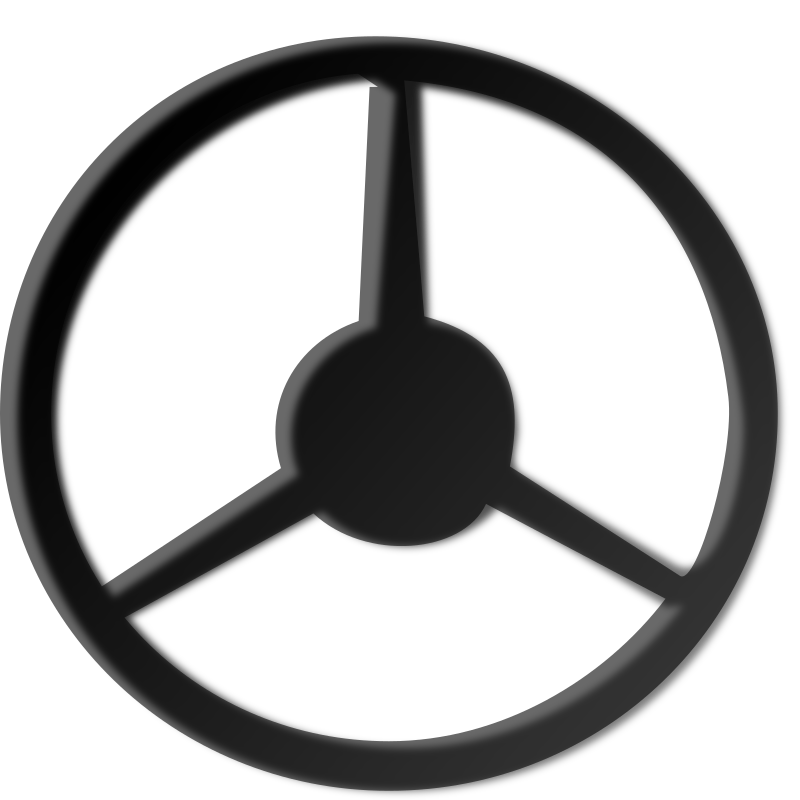 Clipart - steering-wheel