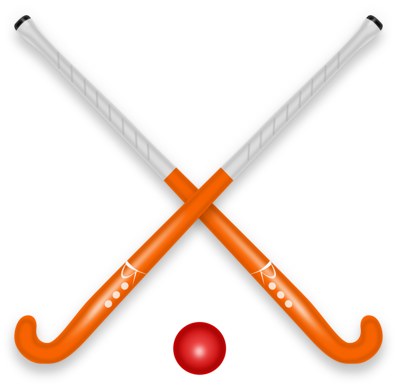 Hockey Stick & Ball by russel