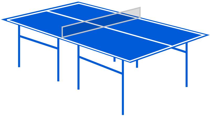 Table tennis table by laobc