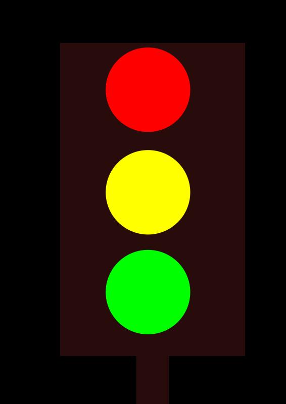 clipart traffic light green - photo #29