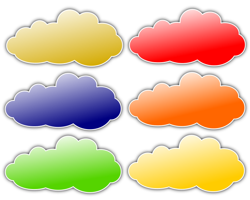 Colour Clouds by inky2010 - Colorful clouds